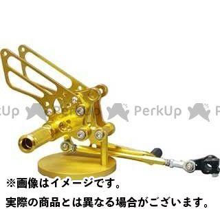 【無料雑誌付き】BABYFACE RSV1000R RSV1000Rファクトリー トゥオーノ1000R バックステップ関連パーツ IDEAL バックステップキット Type-I カラー:ゴールド ベビーフェイス
