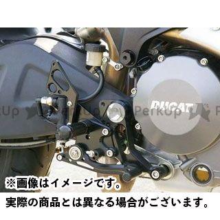 【無料雑誌付き】BABYFACE モンスター696 バックステップ関連パーツ バックステップキット カラー:ブラック ベビーフェイス