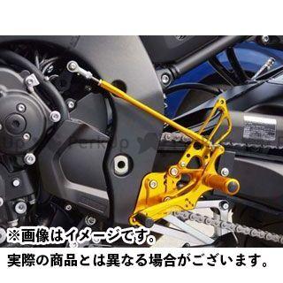 【無料雑誌付き】BABYFACE フェザー8 FZ1(FZ1-N) FZ8 バックステップ関連パーツ バックステップキット 仕様:レースパターン カラー:ブラック ベビーフェイス