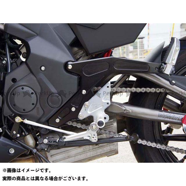 【無料雑誌付き】BABYFACE ER-6f ER-6n ニンジャ650 バックステップ関連パーツ バックステップキット カラー:ブラック ベビーフェイス