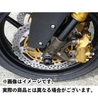 BABYFACE YZF-R1 その他サスペンションパーツ アクスルプロテクター フロント カラー:ブラック ベビーフェイス