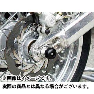 BABYFACE YZF-R1 その他サスペンションパーツ アクスルプロテクター リア(ブラック) ベビーフェイス