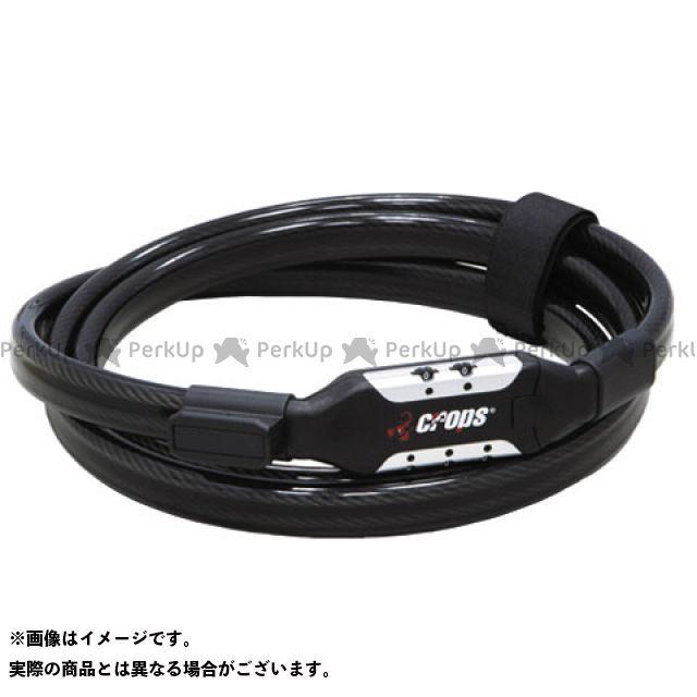 クロップス メーカー在庫限り品 CROPS ワイヤーロック 盗難防止用品 サイズ:10D×180cm CP-K5 ☆正規品新品未使用品 TSURUGI