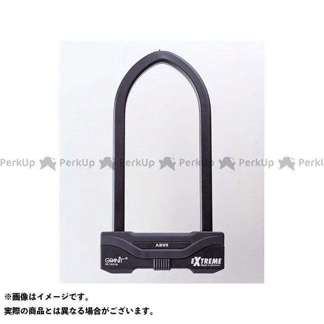 送料無料 ABUS アブス U字ロック Granit Extreme 59/180HB260(ブラック)