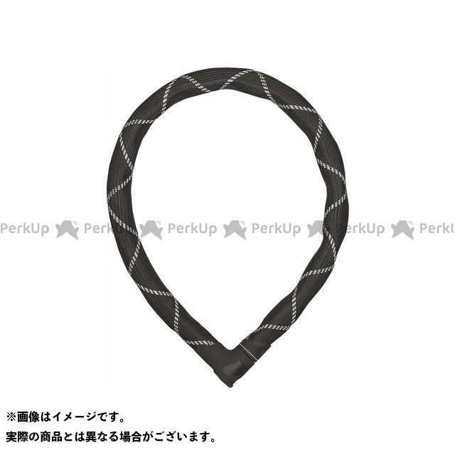 アブス リンクロック Steel-O-Flex Iven 8200(ブラック/ホワイト) 長さ:110cm ABUS
