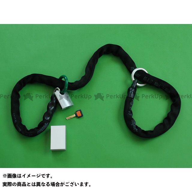 カトウセイサクジョ チェーンロック 【携帯用】 かてーな!! α(G55P 1ヶ付属) ブラック 2.0m 加藤製作所