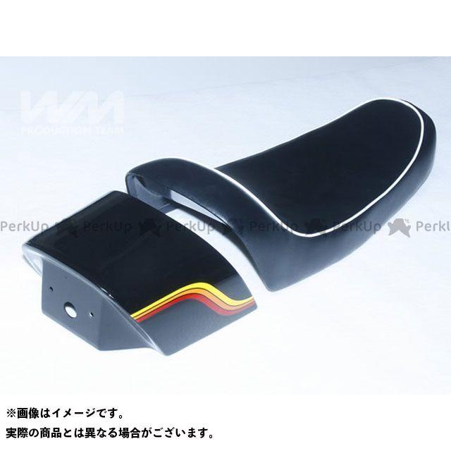 ダブルエム 250TR シート関連パーツ マッハモード シートセット(白パイピング) WM