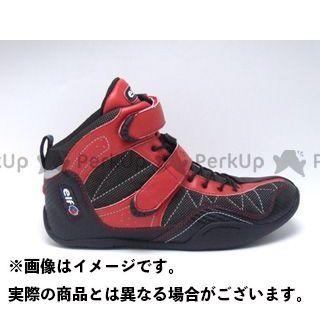 送料無料 elf shoes エルフシューズ ライディングシューズ EXA11(エクサ11) レッド 25.5cm