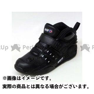エルフシューズ ライディングシューズ Synthese13(シンテーゼ13) ブラック 26.0cm elf shoes