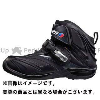 エルフシューズ ライディングシューズ Synthese14(シンテーゼ14) ブラック 26.5cm elf shoes