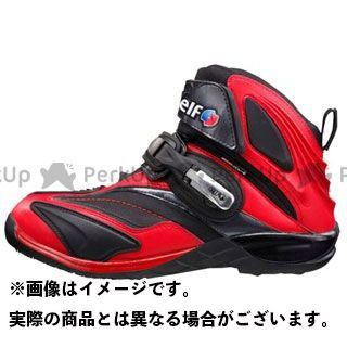 エルフシューズ ライディングシューズ Synthese14(シンテーゼ14) カラー:レッド サイズ:23.5cm elf shoes