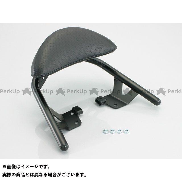 KITACO GSR250 GSR400 タンデム用品 タンデムバックレスト&バー パッド幅:300mm キタコ