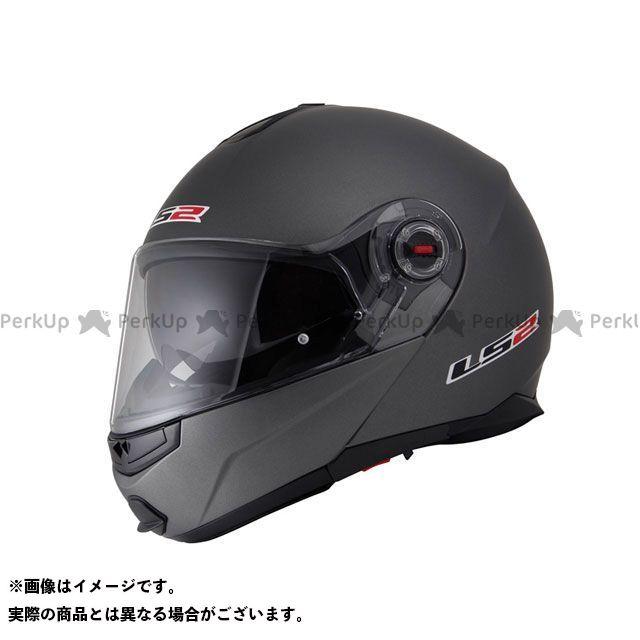 送料無料 LS2 HELMETS エルエスツー システムヘルメット(フリップアップ) 【売り尽くし】 LS2 G-MAC-RIDE(ジーマックライド) マットチタニウム S/55-56cm