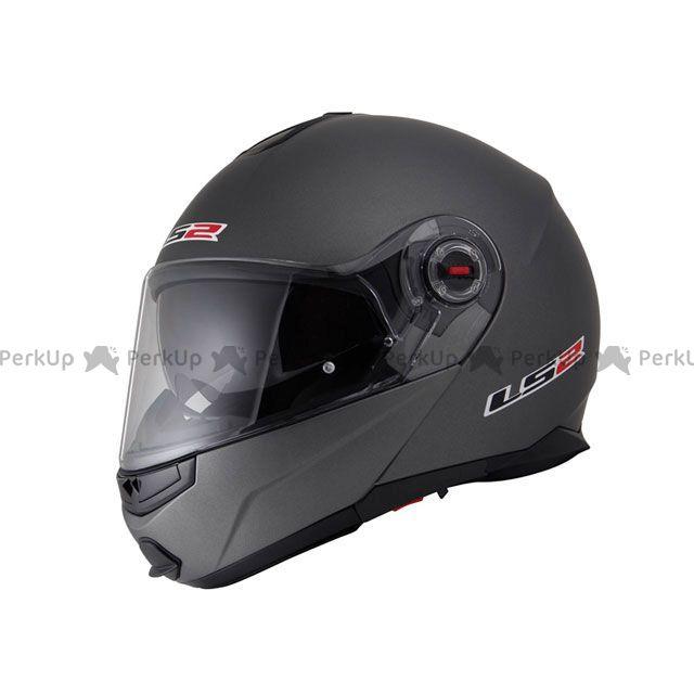 送料無料 LS2 HELMETS エルエスツー システムヘルメット(フリップアップ) 【売り尽くし】 LS2 G-MAC-RIDE(ジーマックライド) マットチタニウム L/59-60cm