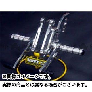【特価品】WR'S ゼファー1100 ゼファー1100RS バックステップ関連パーツ バトルステップ タイプR WR'S