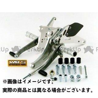 WR'S ゼファー750 ゼファー750RS バックステップ関連パーツ バトルステップ 3ポジションタイプ  WR'S