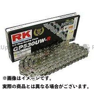 送料無料 RK EXCEL 汎用 チェーン関連パーツ ストリート用チェーン GP530UW-R(シルバー) 100L