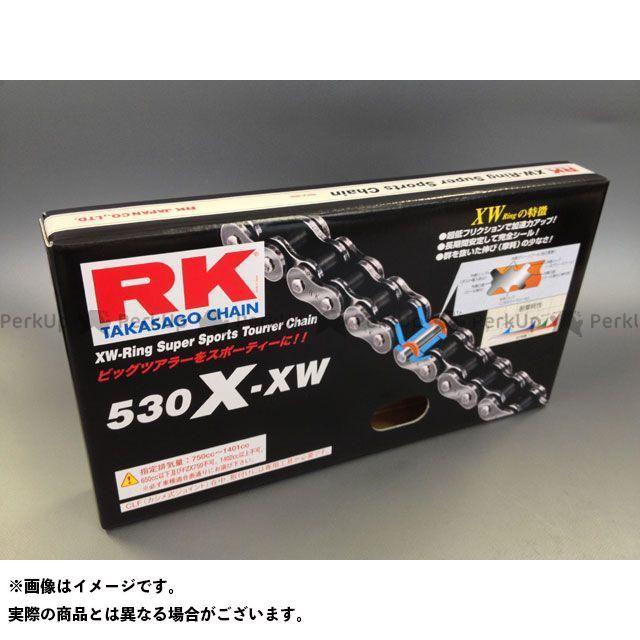 送料無料 RK EXCEL 汎用 チェーン関連パーツ ストリート用チェーン 530X-XW(スチール) 100L