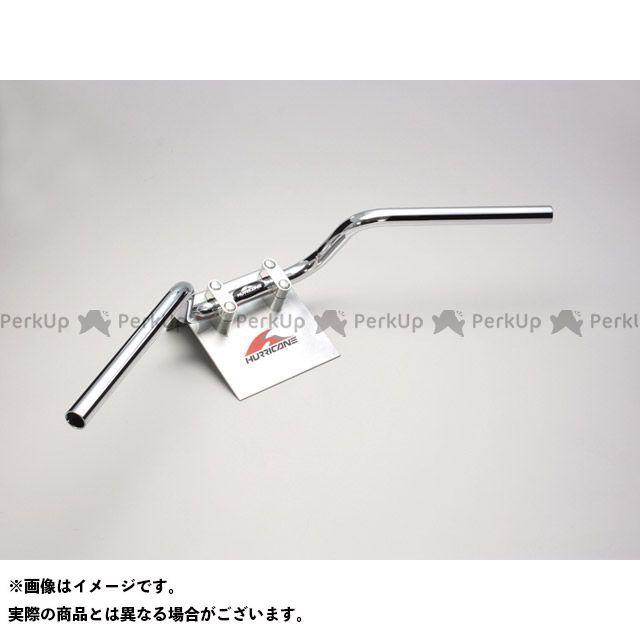 【無料雑誌付き】HURRICANE ZRX400 ZRX400- ハンドル関連パーツ クォーター3型 ハンドルセット(クロームメッキ) ハリケーン