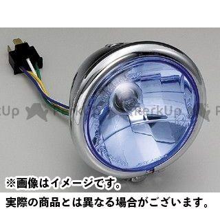 【無料雑誌付き】HURRICANE FTR223 ヘッドライト・バルブ 4.5ベーツタイプヘッドライトキット マルチリフレクター(ブルーレンズ) ハリケーン