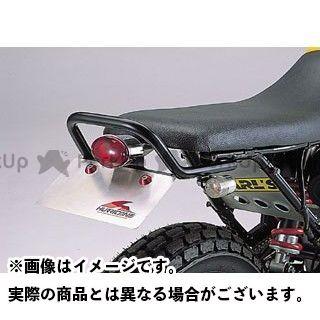 HURRICANE FTR223 タンデム用品 タンデムグリップキット キャッツアイ ミニテールランプ付 カラー:ブラック ハリケーン