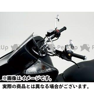 HURRICANE マジェスティ マジェスティC マグザム ハンドル関連パーツ ナロープルバックI型ハンドルキット(クロームメッキ)  ハリケーン