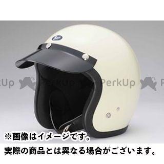 送料無料 BUCO ブコ ジェットヘルメット エクストラ ブコ プレーンモデル アイボリーホワイト L(60-61cm)