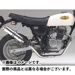 Realize Racing エイプ100 マフラー本体 AZEUS(アゼウス) リアライズ