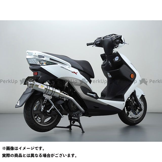 Realize Racing シグナスX マフラー本体 BLINK O2センサー無しモデル 材質:SUS(ステンレス) リアライズ