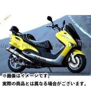 【エントリーで最大P21倍】Realize Racing マジェスティ125 マフラー本体 EXIST 材質:Ti(チタン) リアライズ