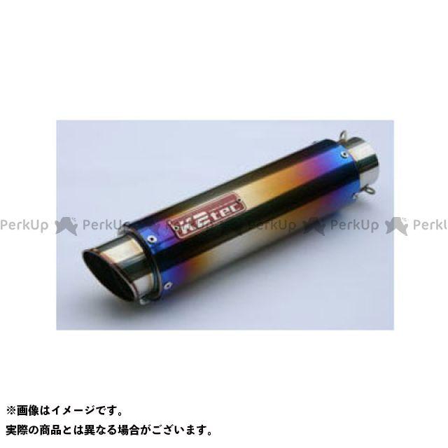 K2-tec 汎用 インナーサイレンサー GPスタイル STDチタンサイレンサー M1 50.8/P50(ステンレス/SUS304) バンド止めタイプ φ100 420mm ケイツーテック