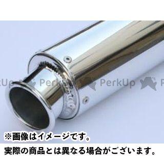 K2-tec 汎用 インナーサイレンサー 汎用アルミサイレンサー カール・バンド 外径:φ89 筒長:400mm 差込径:φ60.5 ケイツーテック