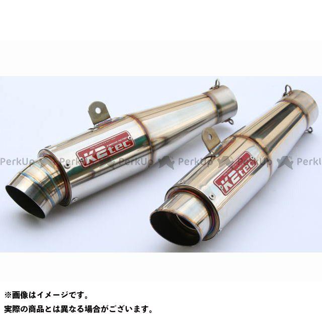 K2-tec 汎用 マフラー本体 GPスタイル テーパーサイレンサー M1 テーパー長:200mm 差込径:φ60.5 ケイツーテック