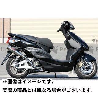 K2-tec シグナスX マフラー本体 シグナスX GP-R 車種:台湾5期O2センサー対応 仕様:テーパー 出口形状:M1タイプ ケイツーテック