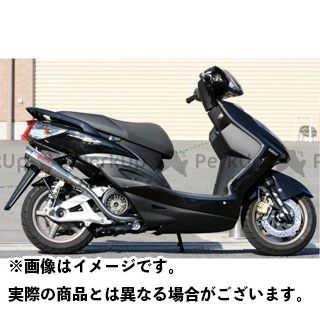 K2-tec シグナスX マフラー本体 シグナスX GP-R 車種:台湾5期O2センサー対応 仕様:テーパー 出口形状:3ピースタイプ ケイツーテック