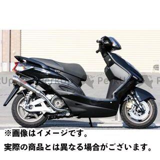 【エントリーで最大P21倍】K2-tec シグナスX マフラー本体 シグナスX GP-R 車種:国内・台湾O2センサー無し 仕様:メガホン 出口形状:- ケイツーテック