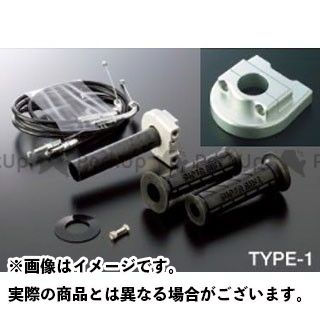 【エントリーで更にP5倍】ACTIVE CBR600RR グリップ関連パーツ 車種専用スロットルキット TYPE-1 ホルダーカラー:シルバー 巻取径:φ40 アクティブ