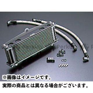 アクティブ ACTIVE オイルクーラー 冷却系 ACTIVE オイルクーラー オイルクーラーキット ストレート #6 9-13R(サーモ対応キット) ブラック アクティブ