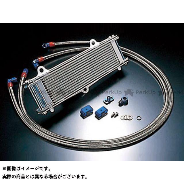 アクティブ ACTIVE オイルクーラー 冷却系 ACTIVE ゼファー1100 ゼファー1100RS オイルクーラー オイルクーラーキット ストレート #6 12-13R(サーモ対応キット) ブラック アクティブ