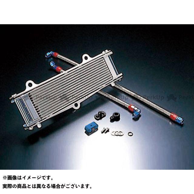 アクティブ ACTIVE オイルクーラー 冷却系 ACTIVE オイルクーラー オイルクーラーキット(上廻し後ろ)ストレート #8 9-13R シルバー アクティブ