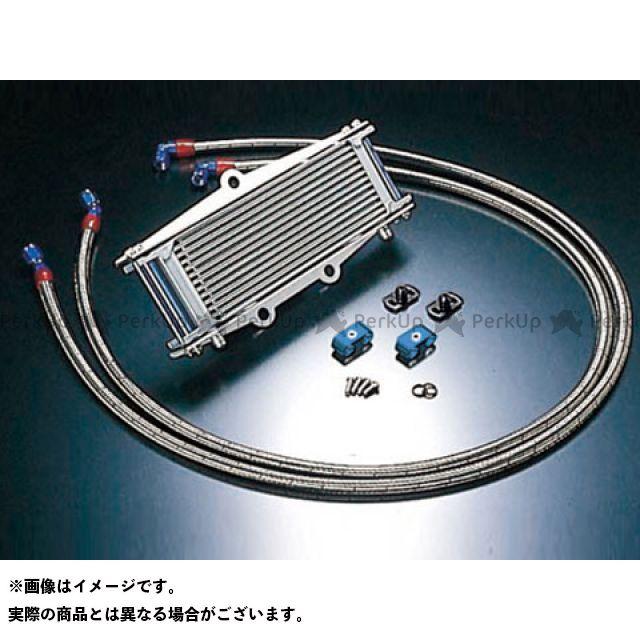 アクティブ ACTIVE オイルクーラー 冷却系 ACTIVE ゼファー ゼファー カイ オイルクーラー オイルクーラーキット(サイド廻し)ストレート #6 9-13R(サーモ対応キット) シルバー アクティブ
