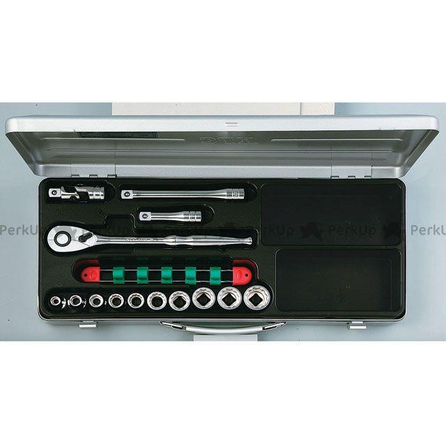 送料無料 KTC ケーティーシー ハンドツール TB410X(12.7SQ) ソケットレンチセット(ミリ)