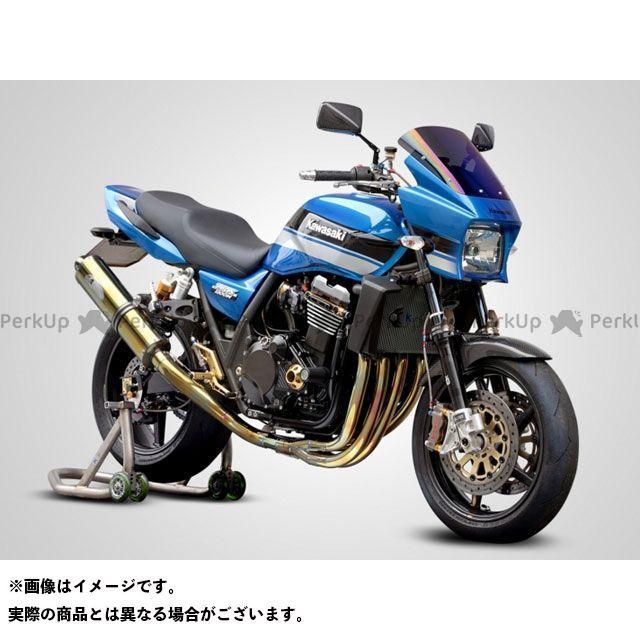 【エントリーで更にP5倍】ケイファクトリー ZRX1200ダエグ マフラー本体 チタンフルエキゾースト D-Header(ゴールド) タイプ:ストリート仕様 Kファクトリー