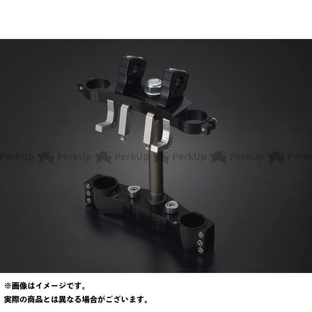 ケイファクトリー ZRX1200ダエグ フロントフォーク関連パーツ トリプルツリー カラー:スーパーブラック Kファクトリー