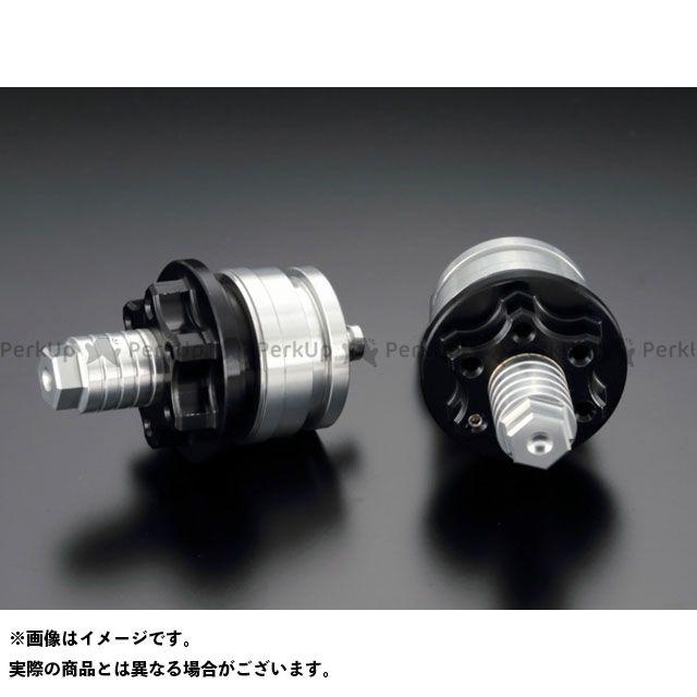 ケイファクトリー ニンジャ250SL Z250 フロントフォーク関連パーツ フロントフォークトップキャップ カラー:スーパーブラック Kファクトリー