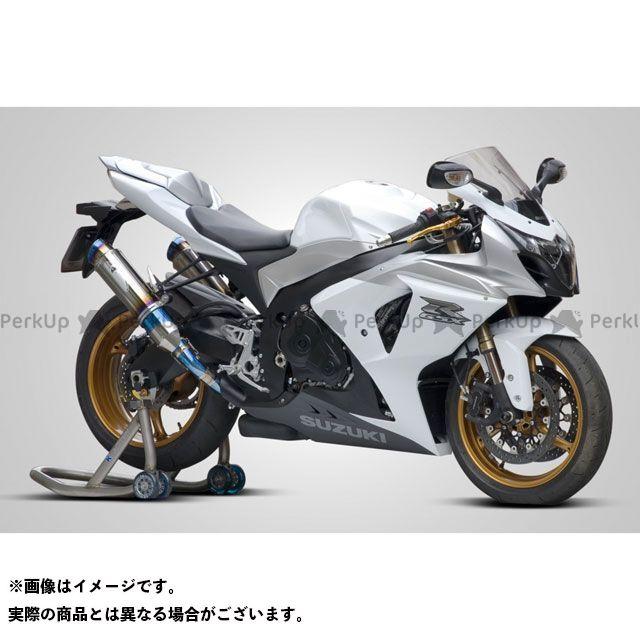 ケイファクトリー GSX-R1000 マフラー本体 Race use FRC チタン スリップオン TWINX 2本出し S/O Kファクトリー
