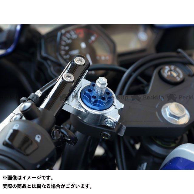 ケイファクトリー MT-07 YZF-R25 フロントフォーク関連パーツ フロントフォークトップキャップ カラー:ブルー Kファクトリー