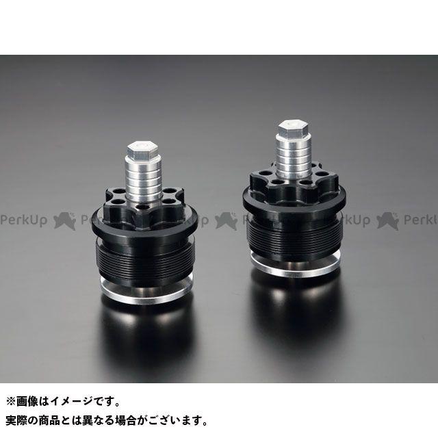 ケイファクトリー MT-07 YZF-R25 フロントフォーク関連パーツ フロントフォークトップキャップ カラー:スーパーブラック Kファクトリー