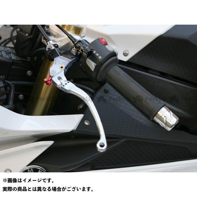 ケイファクトリー S1000RR レバー BMW用 可倒式ビレットクラッチレバー カラー:スーパーブラック Kファクトリー