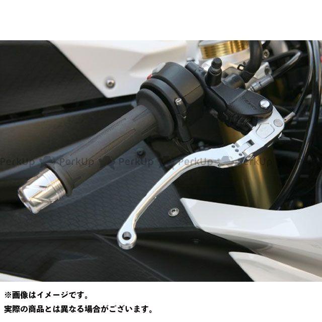 ケイファクトリー S1000RR レバー 可変式 可倒ビレットブレーキレバー カラー:メタリックシルバー Kファクトリー